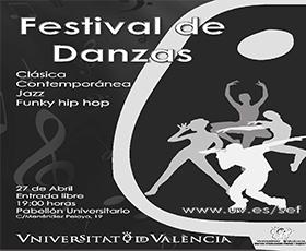 El pabellón universitario acogerá el Festival de Danzas 2013