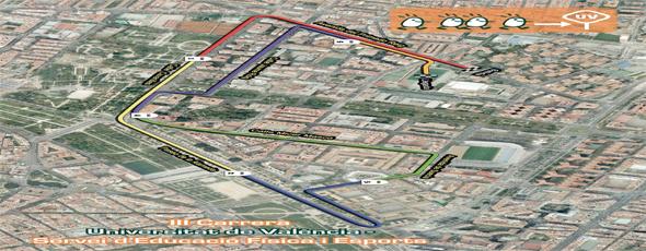 La Universitat se prepara para la tercera edición de la Carrera Universitat de València- SEF