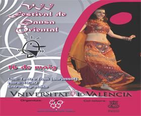 El teatro Tívoli de Burjassot acogerá el VII Festival de Danza Oriental de la Universitat de València