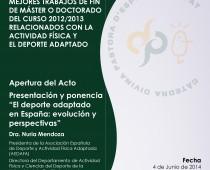 Entrega I Premios CDPDAUV
