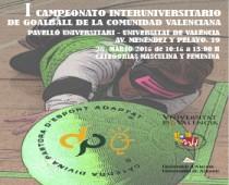 I Cto. Interuniversitario Goalball